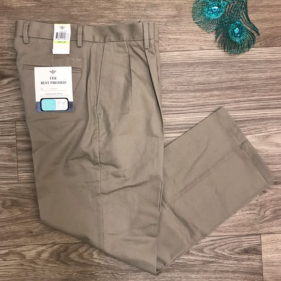 915d1962 Dockers Pants | Best Pressed Classic Fit Khakis Irregular | Poshmark